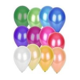"""Palloncini diametro 5""""- 13 cm colori metallizzati - 100 pz"""