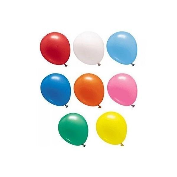 """Palloncini diametro 15 cm - 6"""" colori assortiti pastello - 100 pz"""