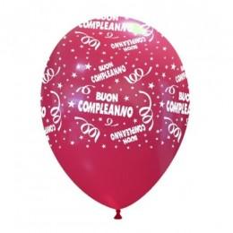 """Palloncini stampa """"Buon Compleanno"""""""