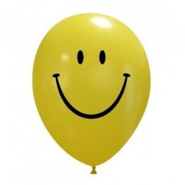 Palloncini SMILE con faccina nera