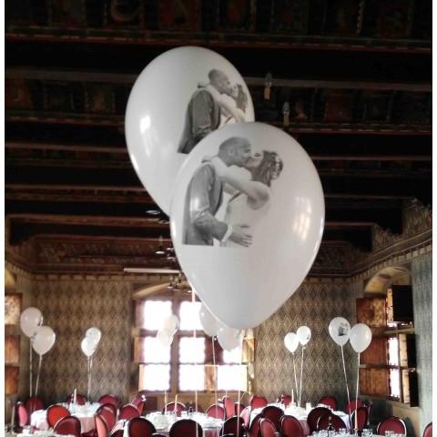 Palloncini personalizzabili con nomi foto messaggio per compleanno, party, matrimonio - 100 pezzi