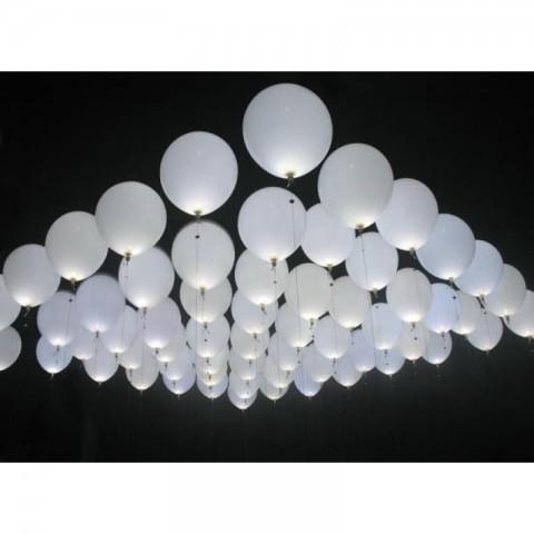 Mini led a sfera per palloncini - 50 pezzi