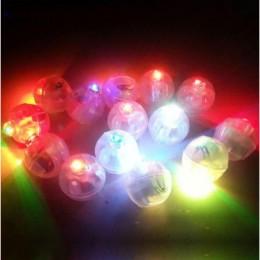 Mini led a sfera per palloncini - luci colori assortiti - busta da 50 pz