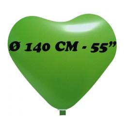 palloncino cuore gigante diametro 140 cm