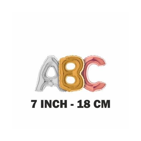 """Lettere 18 cm - 7"""" mylar"""