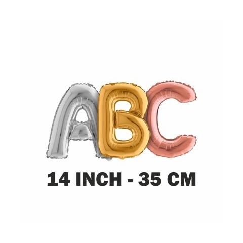 """Lettere 35 cm - 14"""" mylar"""