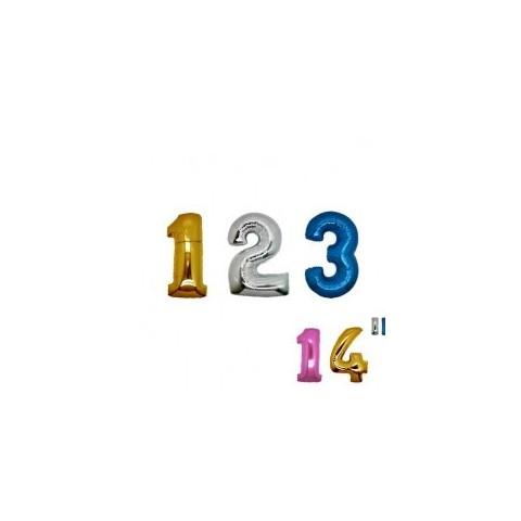 "Numeri 35 cm - 14"" mylar"